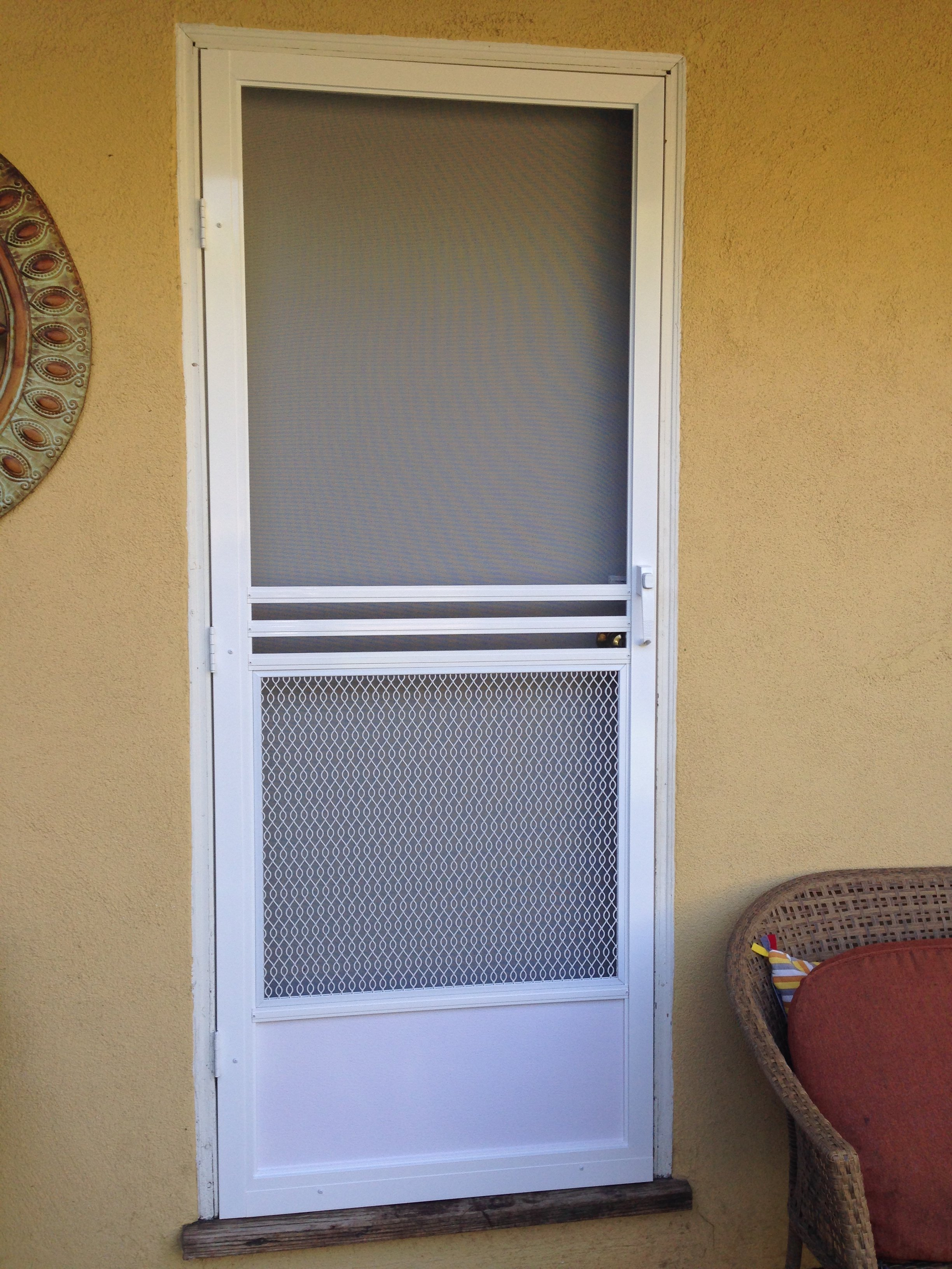 How to repair wooden screen door almirah Screen door replacement
